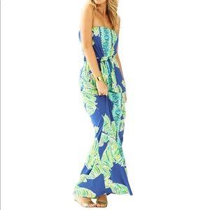 LILLY PULITZER Rosalina Maxi Dress Size S NWT FAB!